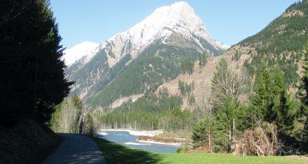 nach 7 km (Retour am Fahrradweg)